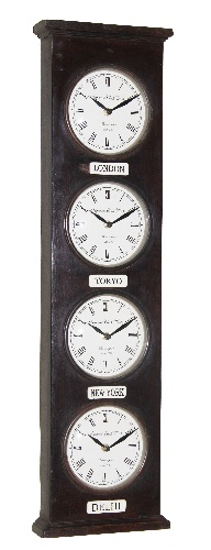Towered World Time Clock